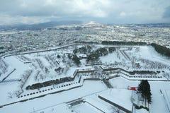 Koryukaku Hakodate imagen de archivo libre de regalías