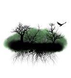 korzeni drzewa ilustracji