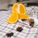 Korzenna pomarańcze Obraz Stock