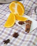 Korzenna pomarańcze Obrazy Stock