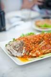 Korzenna ryba w Malacca Obrazy Stock