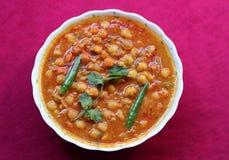 Korzenny chana masala curry Obrazy Stock
