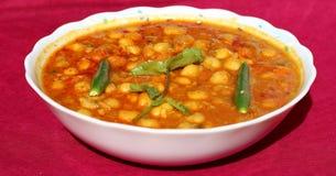 Korzenny chana masala curry Zdjęcia Stock