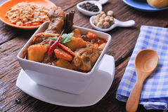 Korzenny curry'ego kurczak Obraz Royalty Free