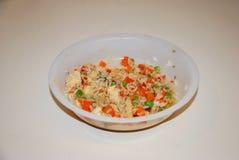 Korzenny kurczak dogodności posiłek Fotografia Royalty Free