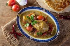 Korzenny kurczaka curry zdjęcie stock