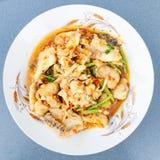 Korzenny rybi curry Obrazy Stock