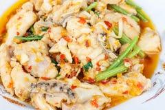 Korzenny rybi curry Zdjęcia Stock