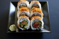 Korzenny tuńczyk rolki suszi Zdjęcie Stock