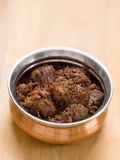 Korzenny wołowiny rendang Zdjęcie Royalty Free