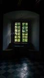 Korzkiew slott som byggs i det mitt- 14th århundradet Royaltyfri Fotografi