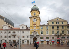 Korzo i Rijeka Royaltyfri Foto
