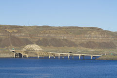 Korzystny most zdjęcie stock