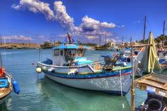 Kos希腊港口海岛  库存照片