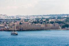 Kos海岛希腊 库存照片