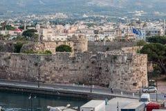 Kos海岛希腊 免版税库存照片