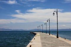 Kos港口 库存照片