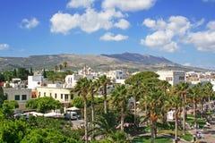 kos острова Греции dodecanesse стоковое изображение