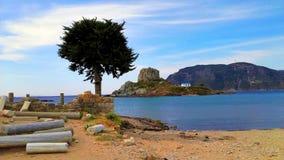 KOS - Agios Stefanos. Greece, Kos Island, Kastri, Agios Stefanos Royalty Free Stock Images