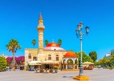 In Kos-eiland in Griekenland Stock Afbeeldingen