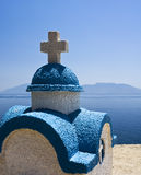 Kos greece. Kos, greece island magic white blue landscape Stock Photography