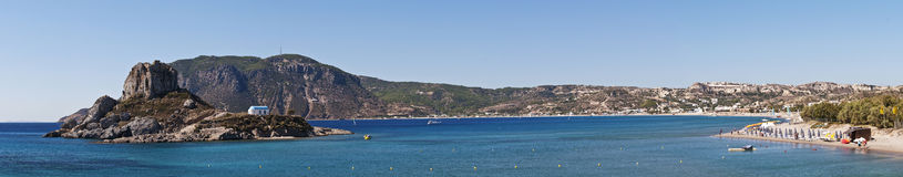 Kos Island. Panoramic of Kos island in Greece Royalty Free Stock Images