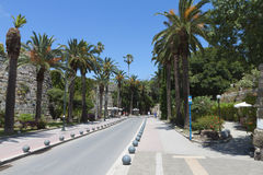 Kos island in Greece. City view Royalty Free Stock Image