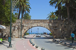 Kos island in Greece. City view Royalty Free Stock Photos