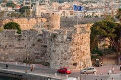 Kos Island Greece Defensive Walls Royalty Free Stock Images