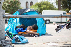 Kos island, Greece - European Refugee Crisis. Stock Photos