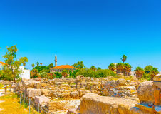 In Kos island in Greece Royalty Free Stock Images