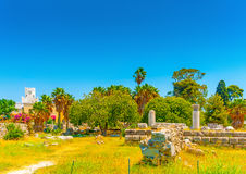 In Kos island in Greece Stock Images