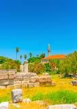 In Kos island in Greece Stock Image