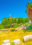 In Kos island in Greece Stock Photography