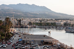 Kos Island Harbour Royalty Free Stock Photography