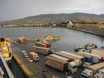 Kos Island Harbour Stock Image