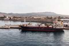 Kos Island Ship Greece Royalty Free Stock Photos