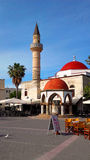 KOS - Mosques of Kos. Greece, Kos Island, Mosques of Kos, marketplace Royalty Free Stock Image
