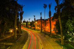 Kos by night Stock Images