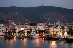 Kos town nightlife  - Dodecanese Islands Stock Images