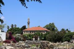 Kos Town Minaret Stock Photography
