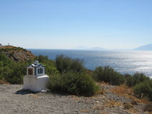 Kos Typical View. Kos Island - View on the Sea - Greece Stock Image