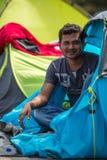 Kos wyspa, Grecja - Europejski uchodźcy kryzys Zdjęcia Royalty Free