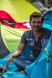 Kos wyspa, Grecja - Europejski uchodźcy kryzys Fotografia Royalty Free