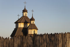 Kosakenkirche Lizenzfreie Stockbilder