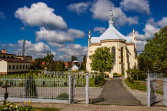Kosciol Najswietszego Serca Pana Jezusa, Pologne Image stock