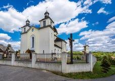 Kosciol Parafialny w Niebylcu-Podkarpackie Royalty Free Stock Photography