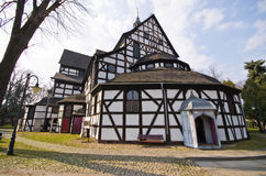 Kosciol Pokoju dans Swidnica, Pologne Photographie stock libre de droits