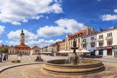 Kosciusko Main Square in Bialystok Royalty Free Stock Images