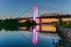 Kosciuszko-Brücke - New York City Lizenzfreie Stockbilder